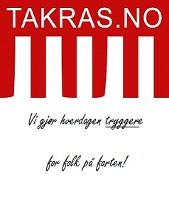 Tryggere for folk på farten - takras.no